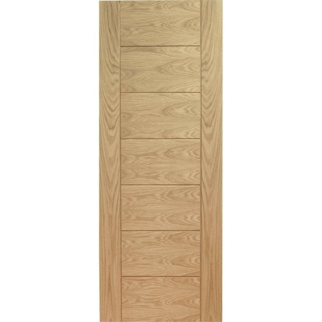 XL Joinery Internal Un-Finished Oak Palermo Fire Door
