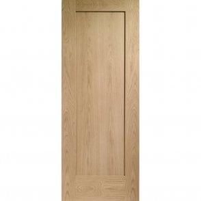 Internal Un-Finished Oak Pattern 10 Fire Door