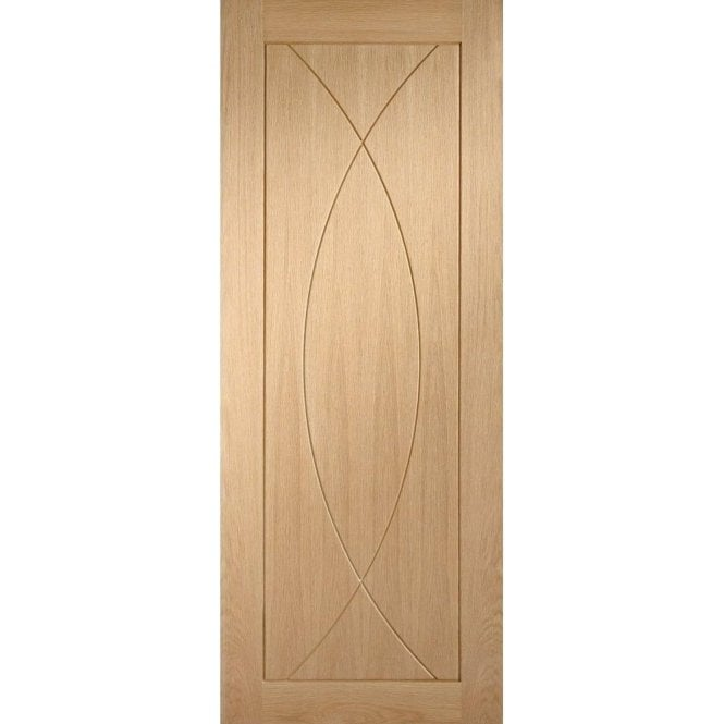 XL Joinery Internal Un-Finished Oak Pesaro Fire Door