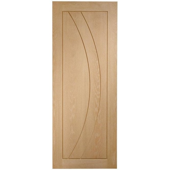 XL Joinery Internal Un-Finished Oak Salerno Fire Door