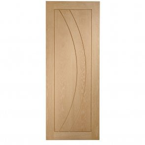 Internal Un-Finished Oak Salerno Fire Door