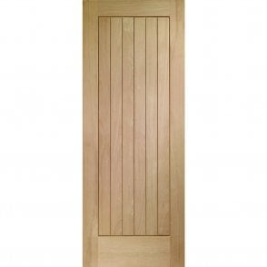 Internal Un-Finished Oak Suffolk Door