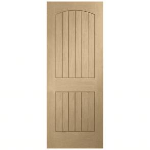 Internal Un-Finished Oak Sussex Fire Door