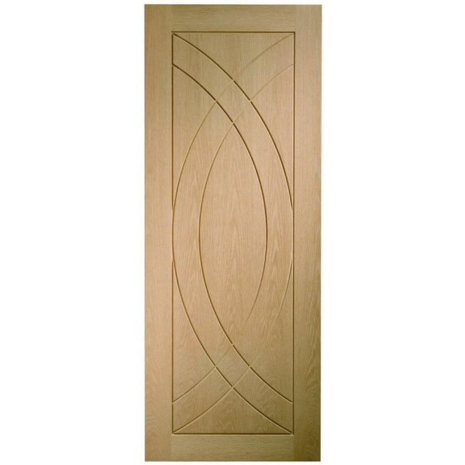 XL Joinery Internal Un-Finished Oak Treviso Fire Door