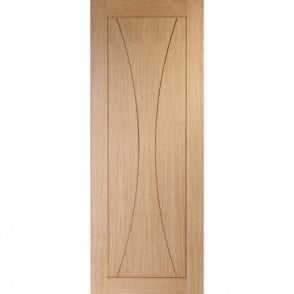Internal Un-Finished Oak Verona Fire Door