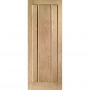 Internal Un-Finished Oak Worcester Door
