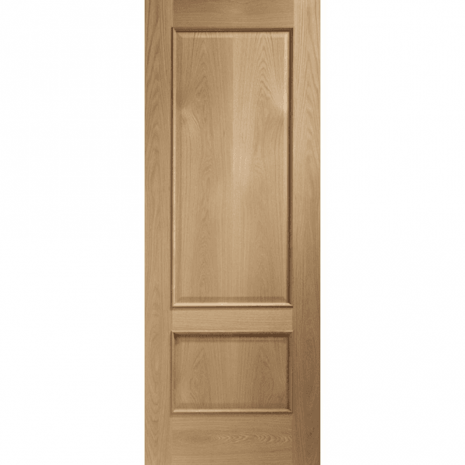 XL Joinery Internal Unfinished Oak Andria Door With Raised Mouldings