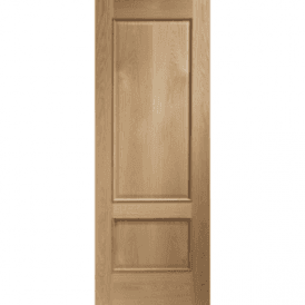 Internal Unfinished Oak Andria Door With Raised Mouldings