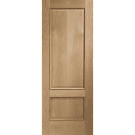 Internal Unfinished Oak Andria Door With Raised Mouldings