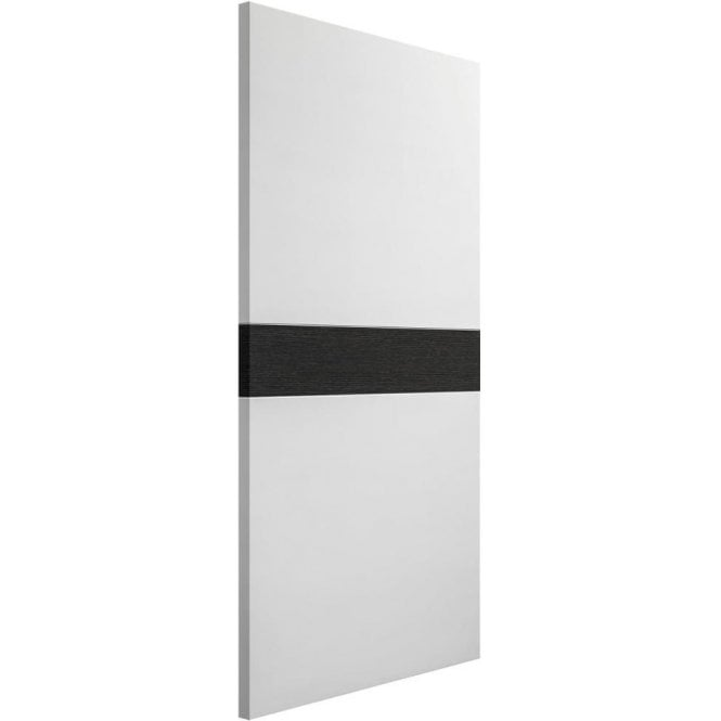 XL Joinery Internal White & Dark Grey Pre-Finished Asti Fire Door