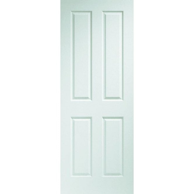 XL Joinery Internal White Pre-Finished Moulded Victorian 4 Panel Door