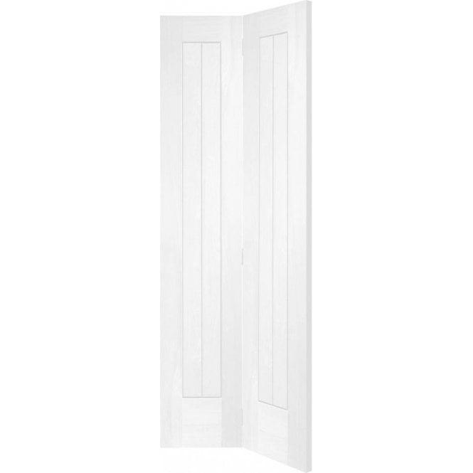 XL Joinery Internal White Primed Suffolk Bi-Fold Door