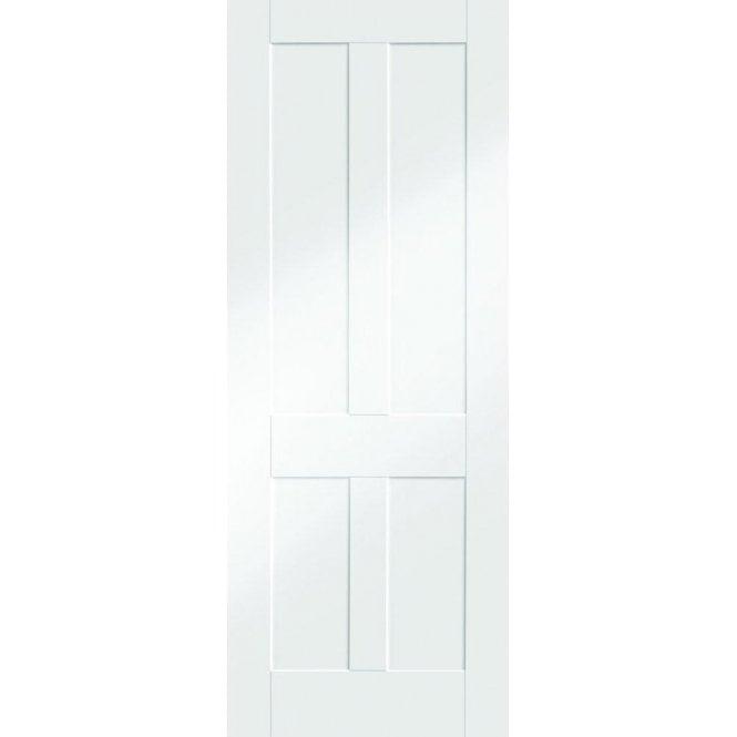 XL Joinery Internal White Primed Victorian Shaker Door