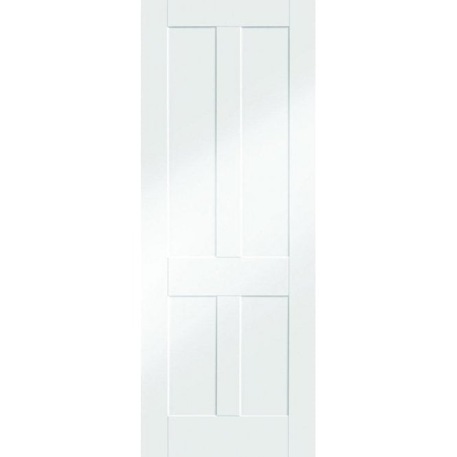 XL Joinery Internal White Primed Victorian Shaker Fire Door