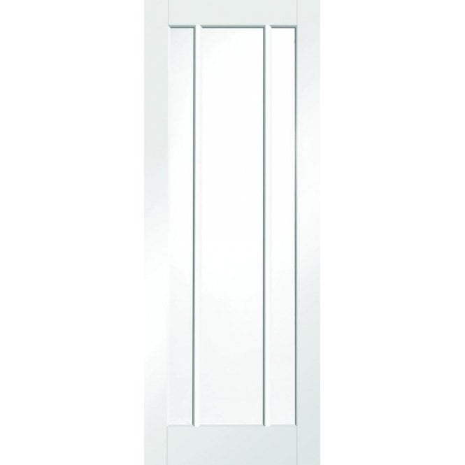 XL Joinery Internal White Primed Worcester Door with Clear Glass