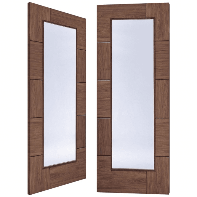 XL Joinery Ravenna Pair Door with Clear Glass